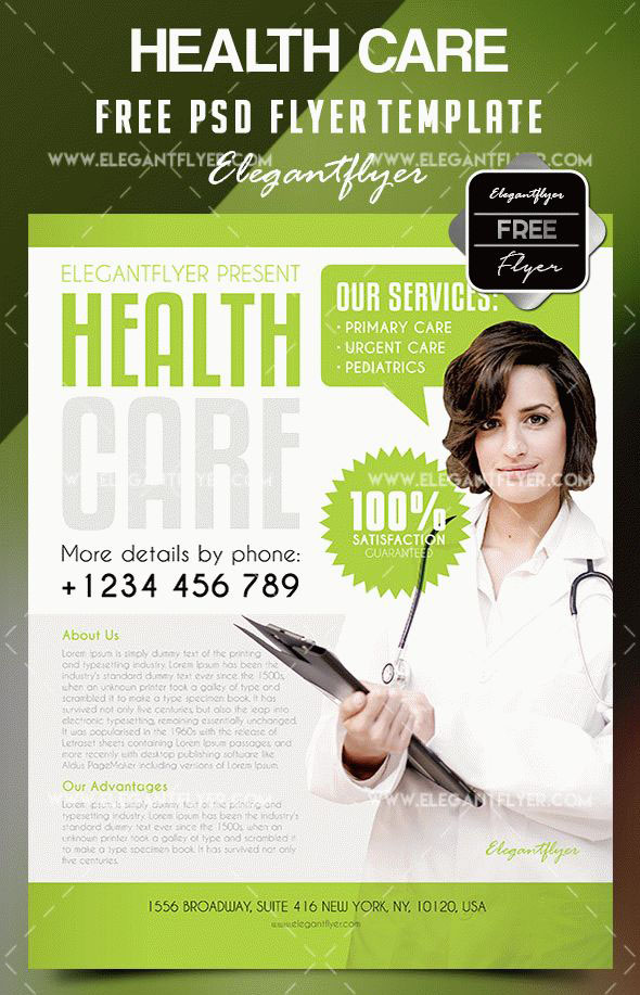 20 free psd beauty health care psd business flyer templates free health care flyer template maxwellsz