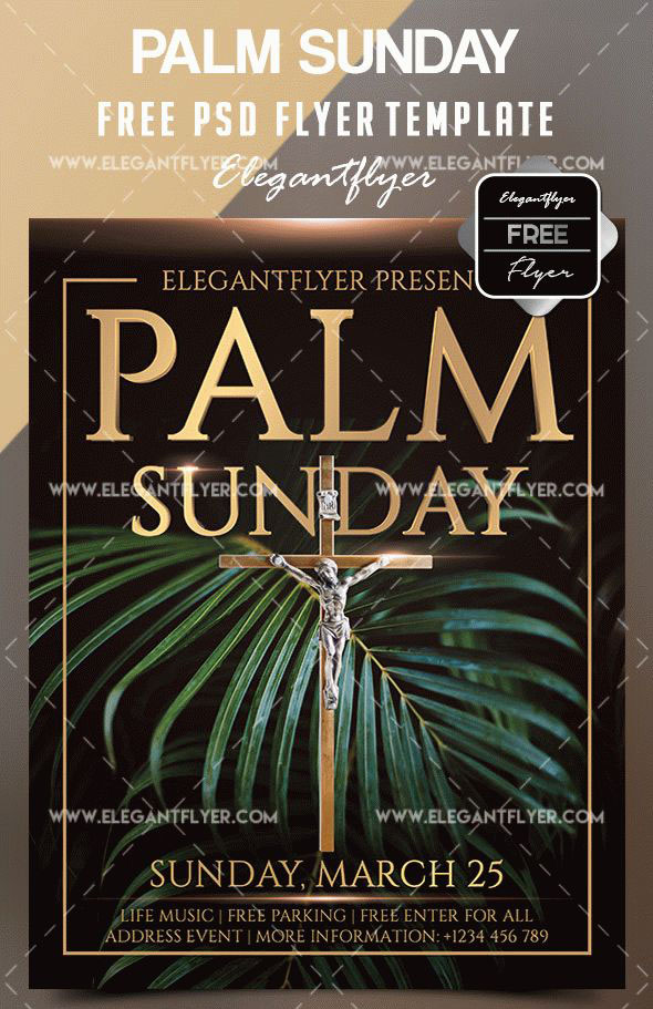 20 Free PSD Church Flyer Templates in PSD for Special Events! | Free ...