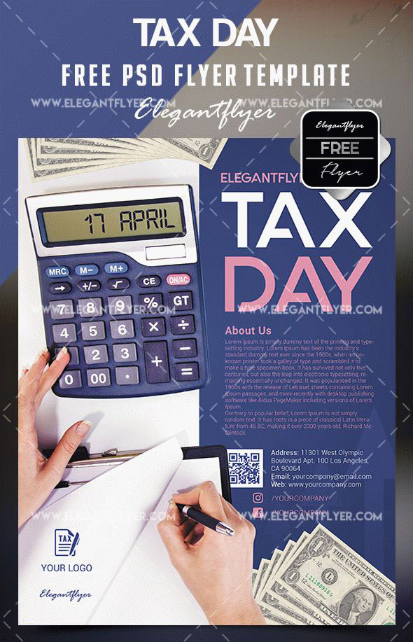 tax flyer templates free tax flyer templates
