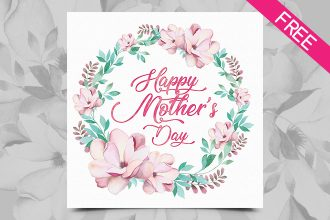 Happy Mother's Day Watercolor Cards