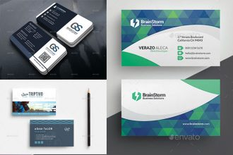 The Best & Modern Business Cards Templates in PSD 2018!