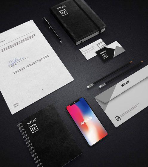 business stationery mockup