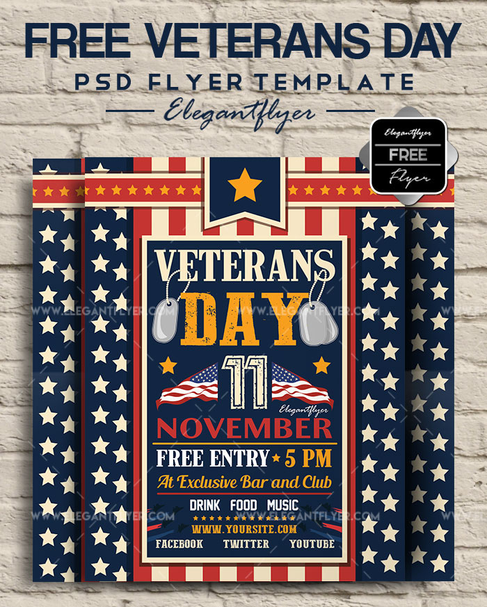 40 Premium Free Psd Flyer Templates For American Holidays By