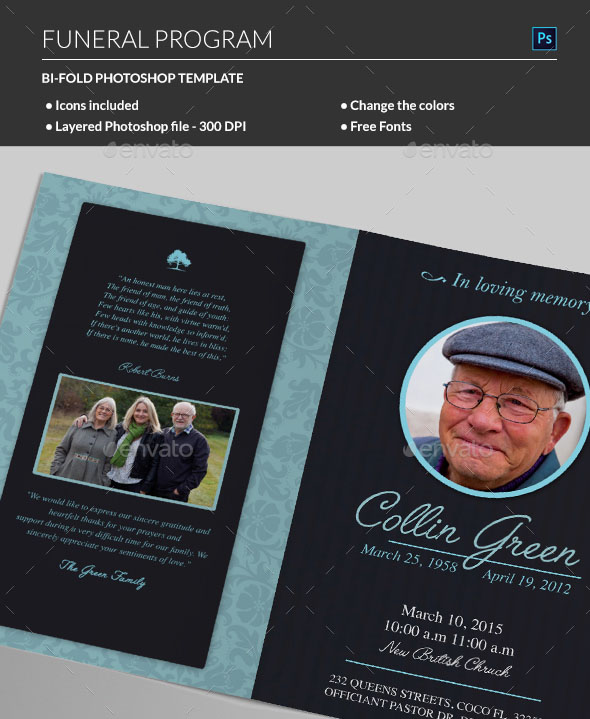 Many People Choose To Make Their Own Funeral Programs If You Have Word Processing Software And A Printer Can Easily Create Very Special Program For