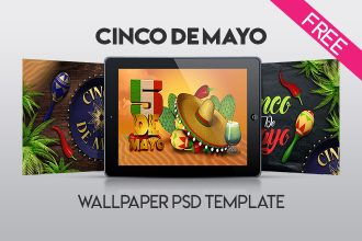 Free Cinco de Mayo Wallpaper in PSD
