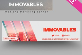 15 FREE Immovables Banner IN PSD