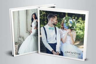 Free Wedding Photo Book Indd Template