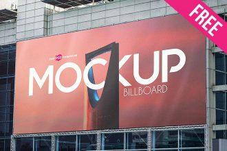 2 Free Billboard Mock-ups in PSD
