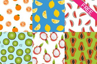 Free Fruit Patterns