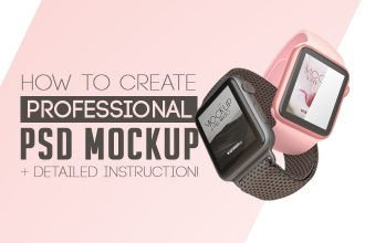 How to create Professional PSD Mockup + Detailed Instruction!