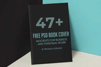 47+ Free PSD Book Cover Mockups for Business and Personal Work & Premium Version!