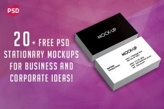 20+ Free&Premium PSD Stationary Mockups for Business and Corporate Ideas!