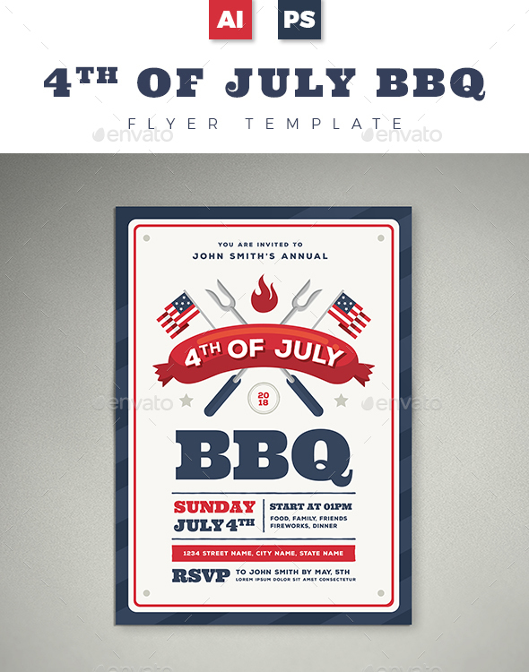 20 Professional Free Flyer Templates in PSD for BBQ Lovers! | Free