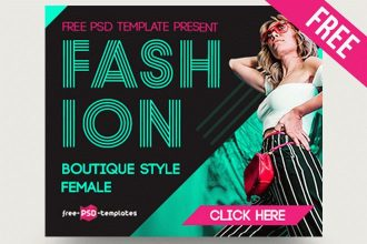 15 Free Fashion Banners Collection in PSD