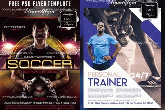 20 Awesome Premium & Free PSD Flyer Templates for Advertisement!
