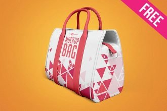 3 Free Bag Mock-ups in PSD