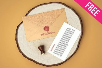 Envelope V02 – Free PSD Mockup