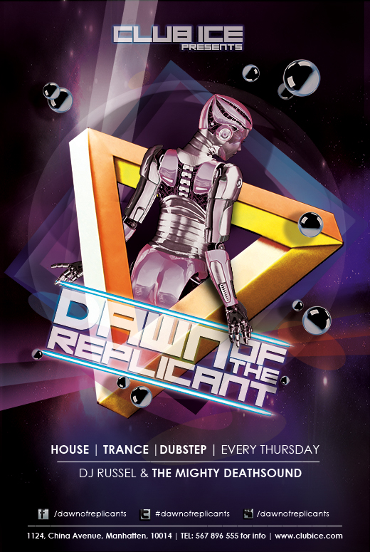 30 Free Nightclub Flyer Templates for Hot Parties Promotion