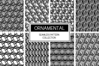 Free Seamless Ornament Pattern Pack