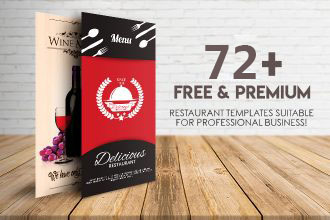 72+ FREE & PREMIUM RESTAURANT TEMPLATES SUITABLE FOR PROFESSIONAL BUSINESS!