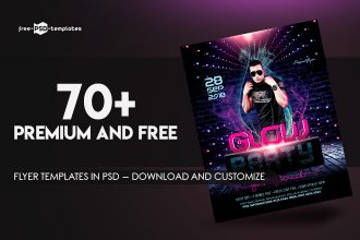 70+Premium & Free Flyer Templates in PSD – Download and Customize