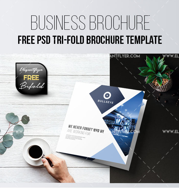69premium and free psd tri fold bi fold brochures templates for free business tri fold brochure psd template wajeb Images