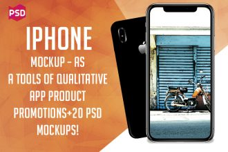 iPhone Mockup – as a Tools of Qualitative App Product Promotions + 20 PSD Mockups!
