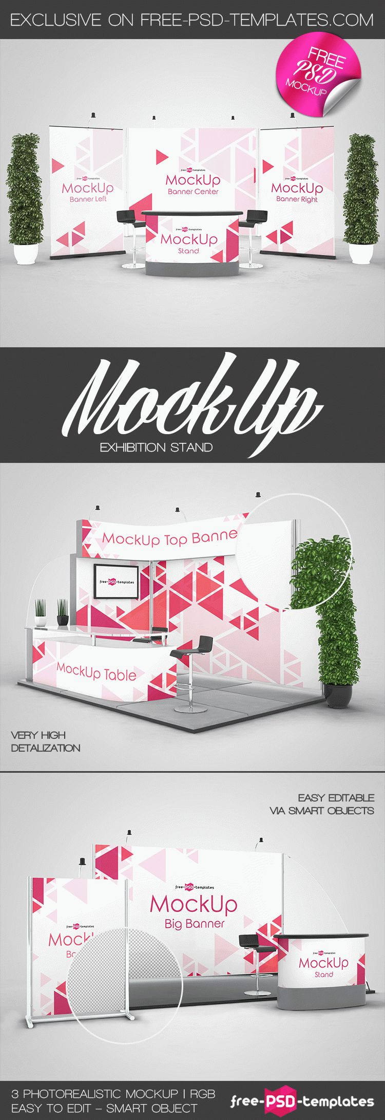 Download Free Mock Up Exhibition Stand : Free exhibition stand mock ups in psd templates
