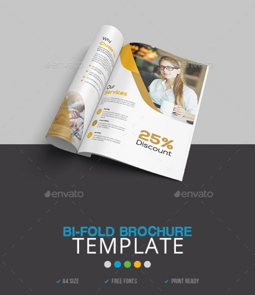 93+ Premium and Free PSD Tri-Fold & Bi-Fold Brochures