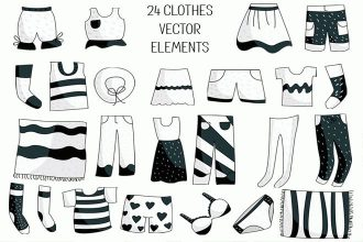 Free Clothes Vector Elements