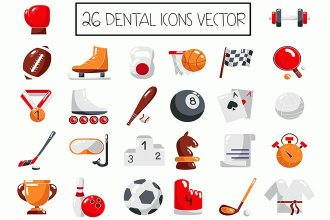 26 Free Vector Sport Icons