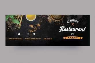 Free Restaurant Facebook Cover
