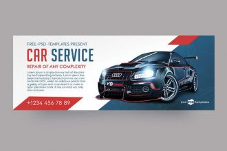 Free Car Service Facebook Cover Page
