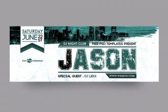 Free Night Club Facebook Cover Page
