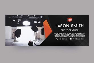 Free Photographer Facebook Cover Page