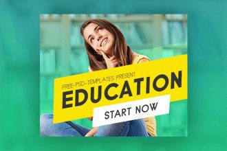15 Free Education Banners Collection in PSD
