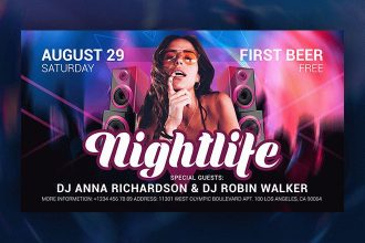 Free Nightlife Facebook Event Page