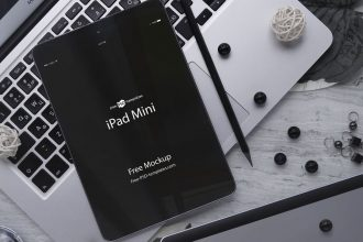 3 Free iPad mini Mockups