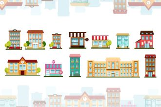 Free Building Vector Set
