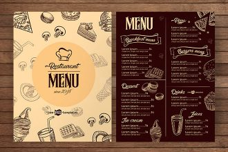 Restaurant Menu Free Template
