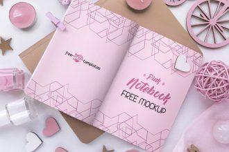 2 Free Soft Pink Mockups