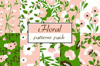 Free Floral Patterns Pack