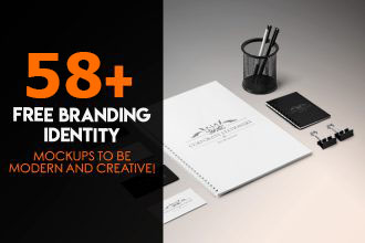 58+ Free Branding Identity Mockups to be modern and creative!