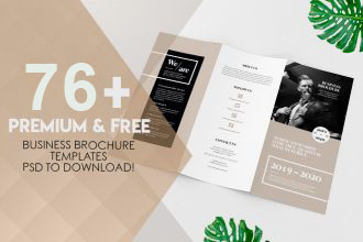 76+ Premium and Free Business Brochure Templates and Mockups PSD