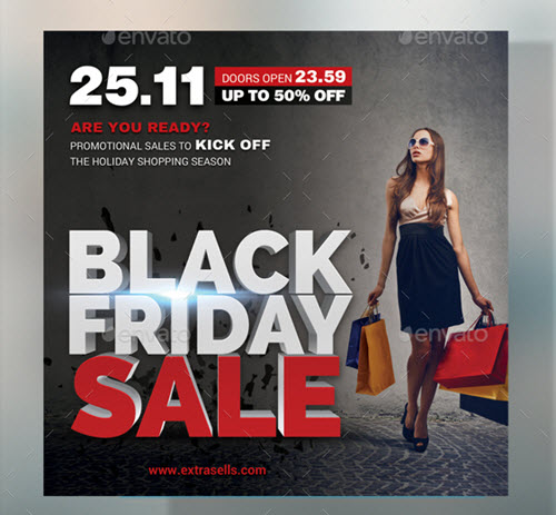 30 Premium And Free Black Friday Flyer Psd Templates Which Drive Sales Free Psd Templates