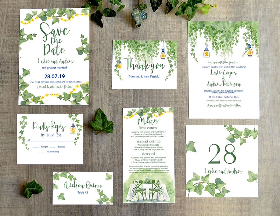 60 Free Must Have Wedding Templates For Designers Free
