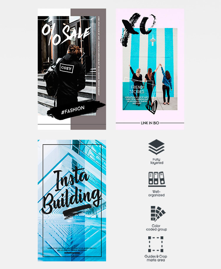 66+PREMIUM & FREE PSD INSTAGRAM FASHION TEMPLATES TO BE STYLISH