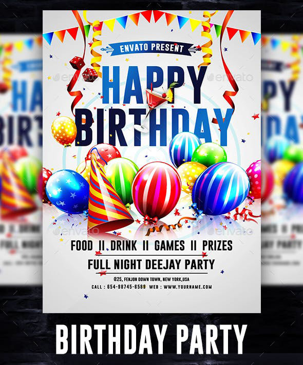 70+ FREE BIRTHDAY INVITE TEMPLATES IN PSD + Premium Invites! | Free