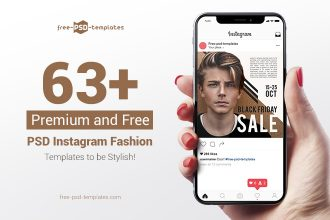 63+PREMIUM & FREE PSD INSTAGRAM FASHION TEMPLATES TO BE STYLISH!