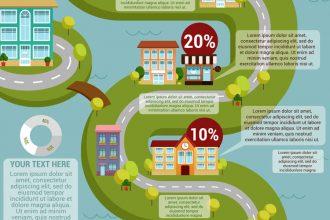 Free City Vector Infographic